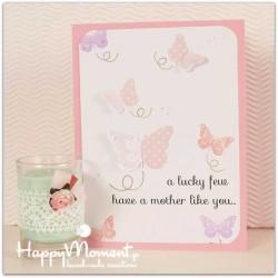 κάρτα ευχών για τη γιορτή της μητέρας