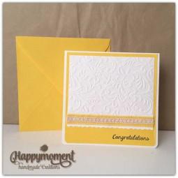 χειροποίητη κάρτα γάμου