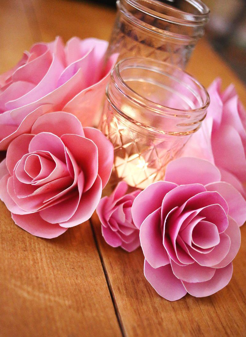 Φτιάχνω χάρτινα λουλούδια!