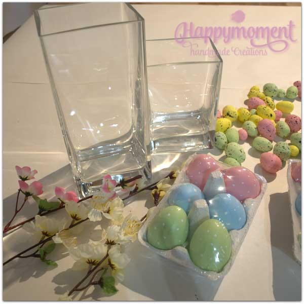 Πασχαλιάτικη διακόσμηση: Αυγά σε βάζο