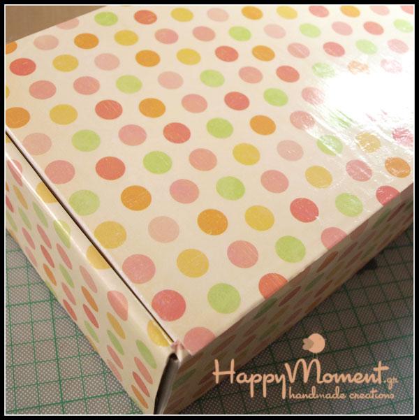 Ντύνω κουτιά! |Happymoment.gr